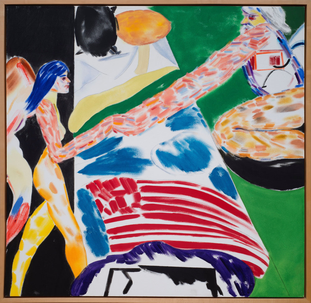 Los angeles no 16 bed by r b kitaj marlborough