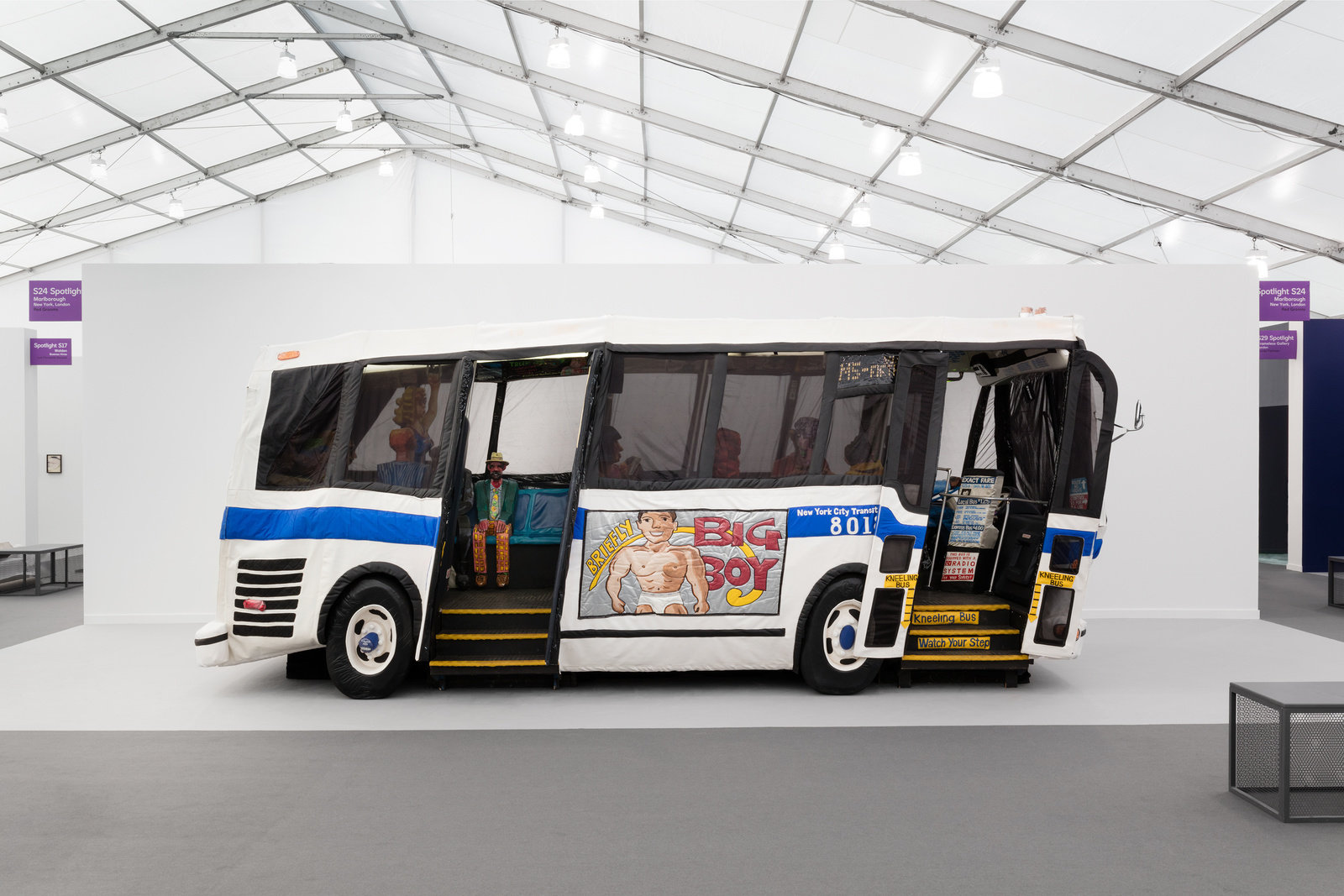 The bus by red grooms frieze spotlight 2019 marlborough