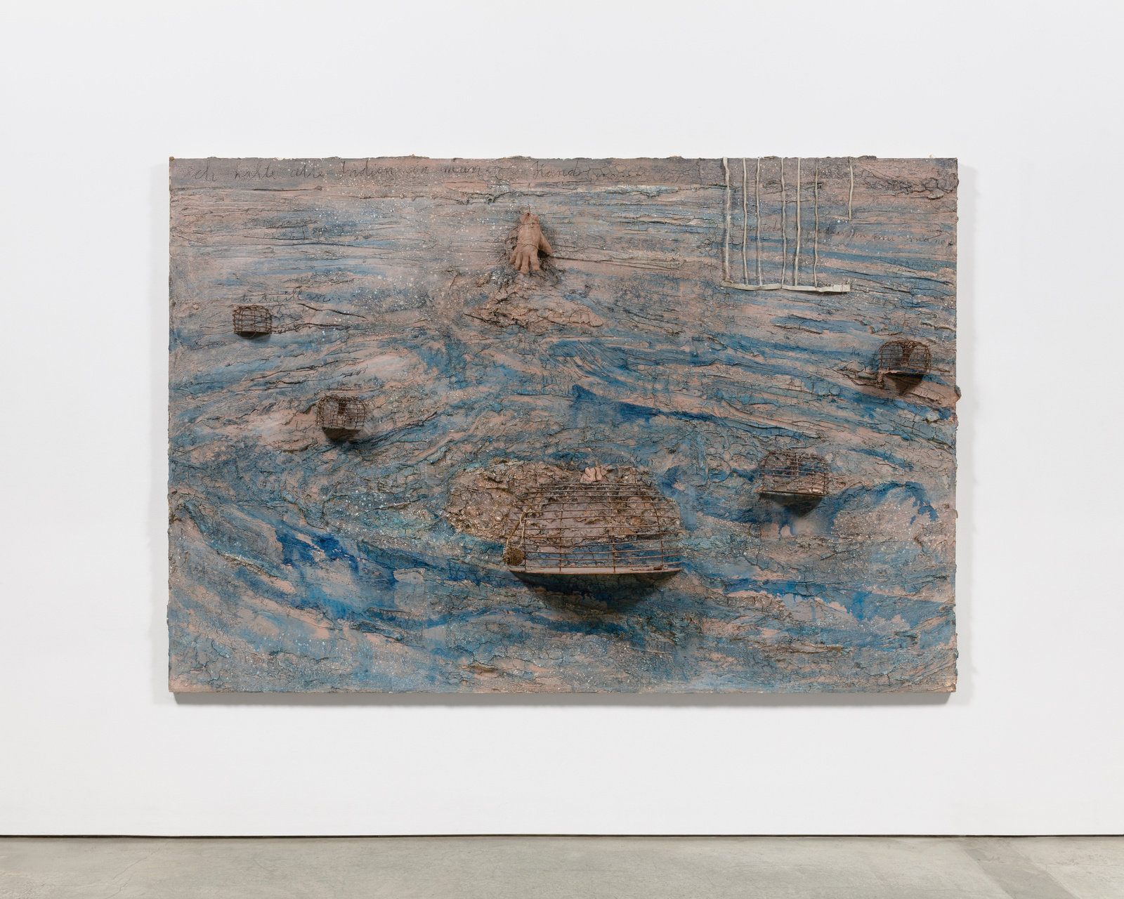 Ich halte alle indien in meiner hand by anselm kiefer marlborough new york