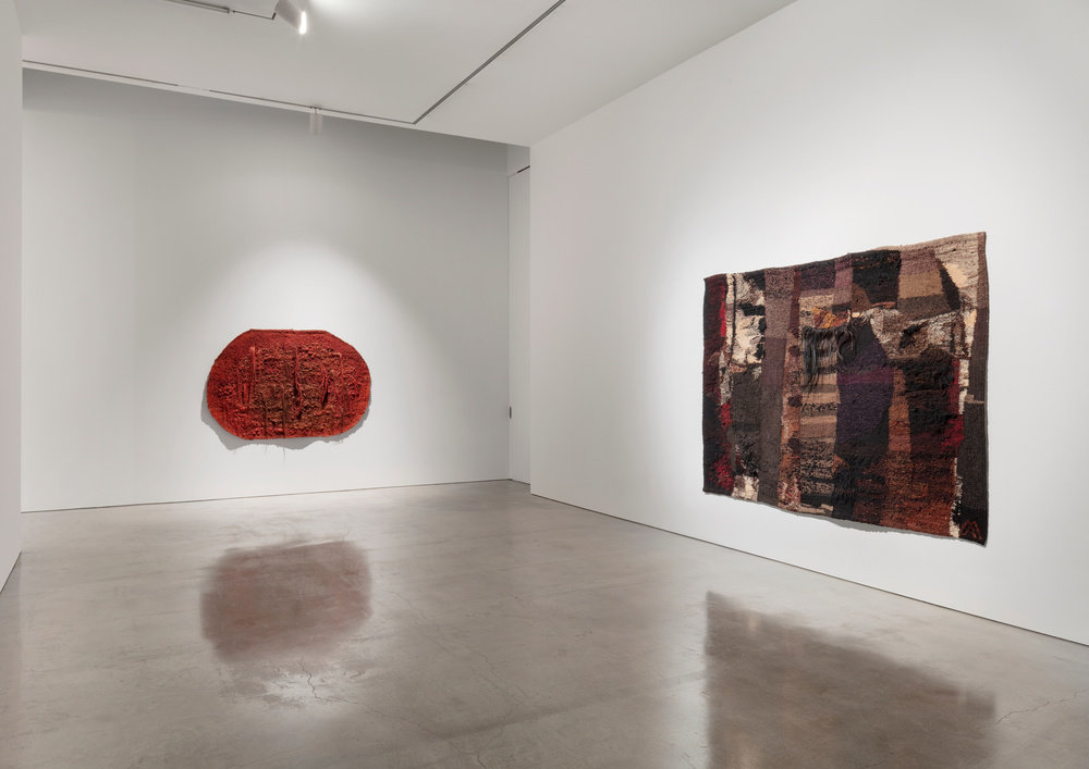 Installation view 5 by magdalena abakanowicz and anselm kiefer marlborough new york