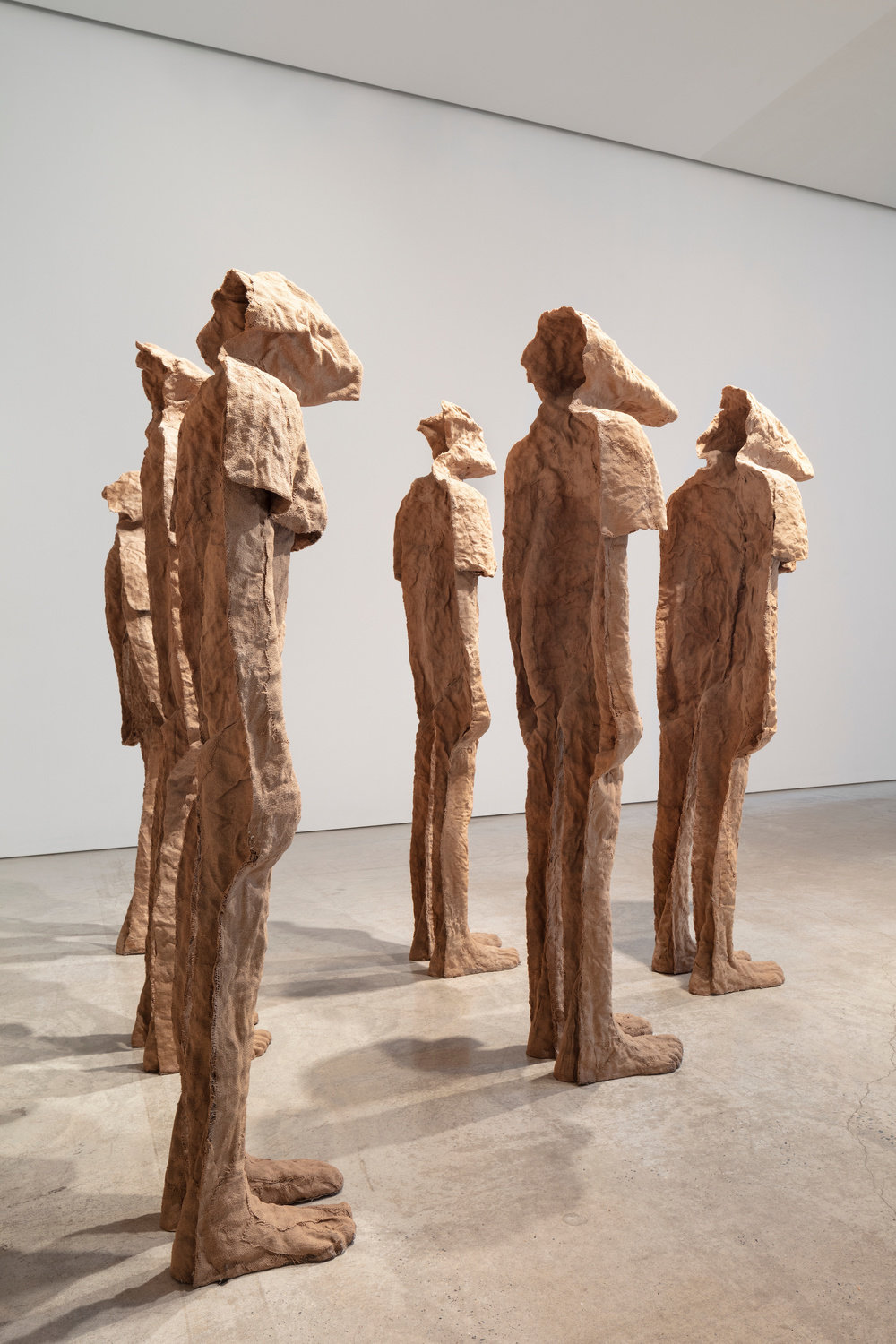 Installation view 6 by magdalena abakanowicz and anselm kiefer marlborough new york