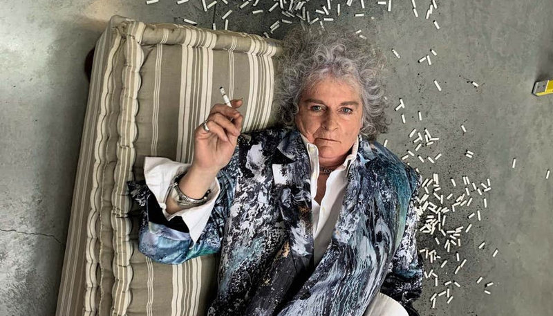 Maggi Hambling photographed by Juergen Teller for ES Magazine