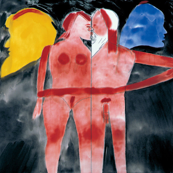 Kitaj  los angeles no. 24 nose to nose  web